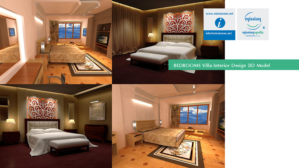 09 Mission 3D Villa Interior Design