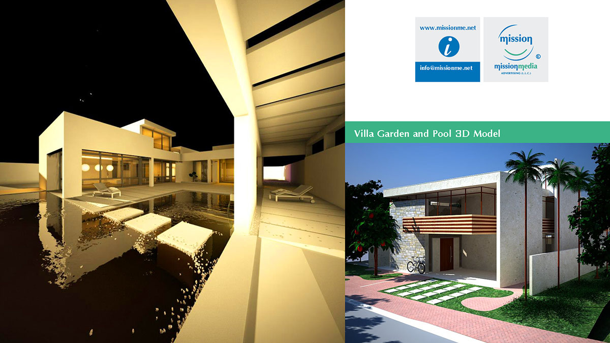 12 Mission 3D Villa Interior Design